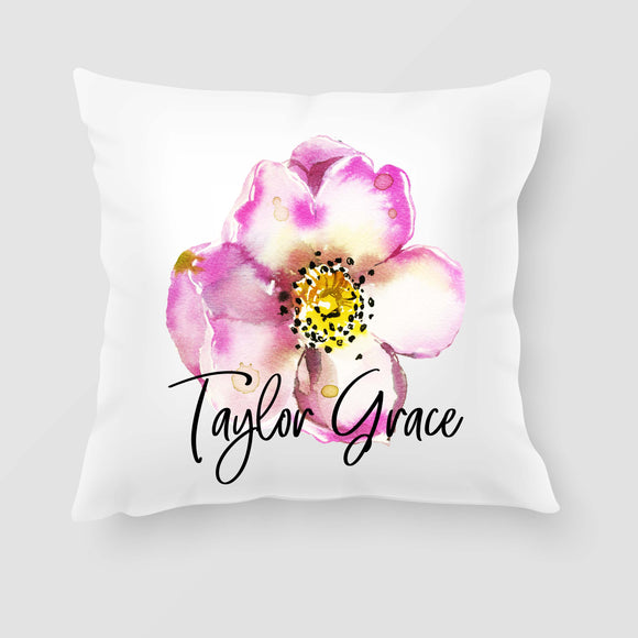 Personalised Name Throw Pillow