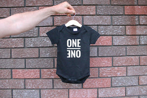 Unisex One Bodysuit, First Birthday, Black infant, Trendy, Monochrome Bodysuit, Birthday Outfit, Cake Smash, Photoshoot Outfit, Party Outfit