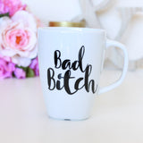 Bad Bitch Mug, Bitch coffee cup, Mothers day coffee gift , funny mug, Gift for mum, humorous coffee mug, sassy mum mug, gift for her