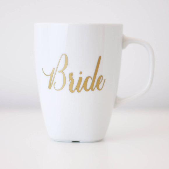 Personalised Coffee Mug, Bridal party mug, Bridesmaid Coffee cup, wedding gifts, mother of the bride gift, hens gift