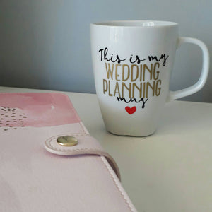 Wedding planning mug, wedding planner, Future Mrs coffee mug, Engagement cup, Engaged tea cup coffee, wedding engagement gift, bride to be