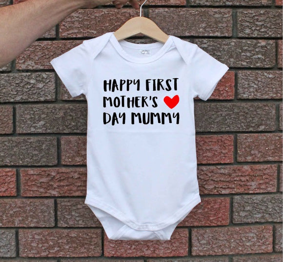 1st Mother's Day Bodysuit