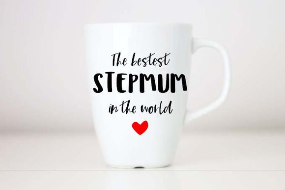 step mum gift, step mother gift, step mum mothers day, step mum coffee mug, gift from daughter step mum mug, mature