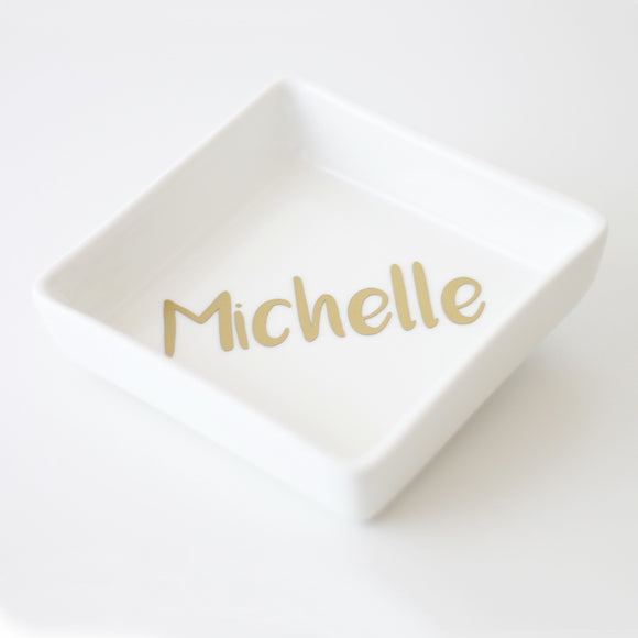 Personalised Jewellery Ring Dish
