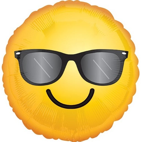SMILING SUN GLASS BALLOON