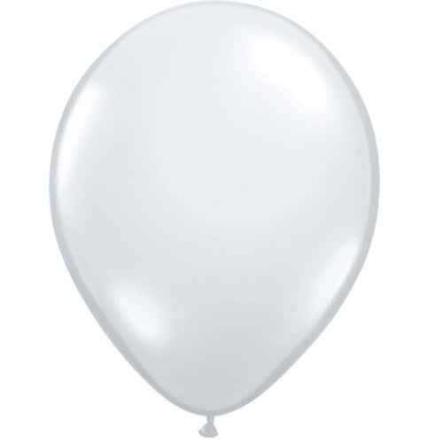 DIAMOND CLEAR LATEX BALLOON 5 inches