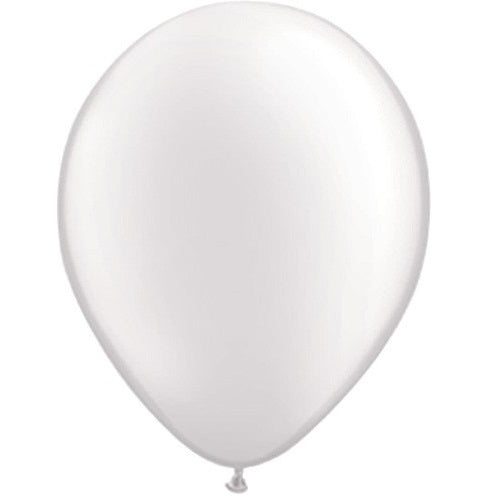 PEARL WHITE LATEX BALLOON 5 inches