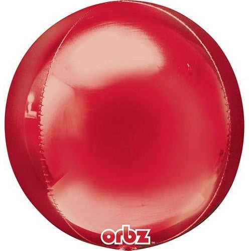 RED ORBZ BALLOON 16 inches