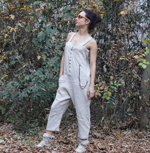 Heavy Linen Jumpsuit