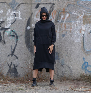 Maxi Hooded Sweatshirt