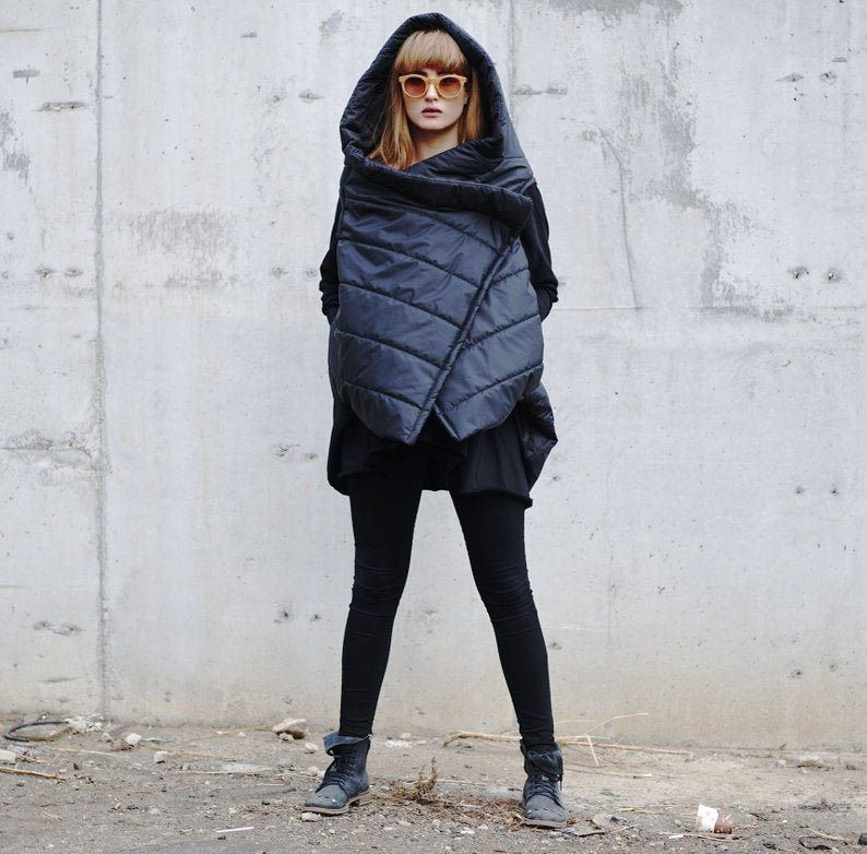 Sleeveless Puffer Coat