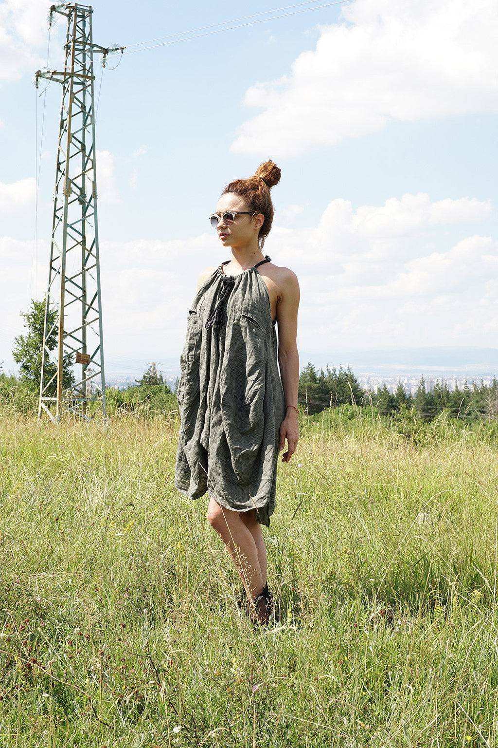 Linen Loose fit Summer Dress