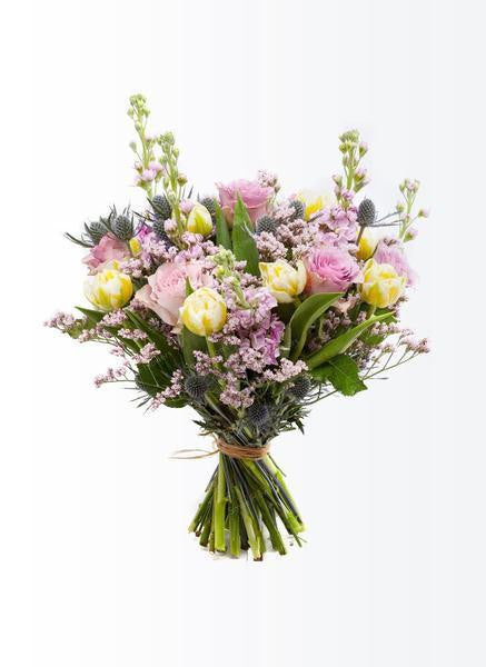 Delicate pastel color bouquet