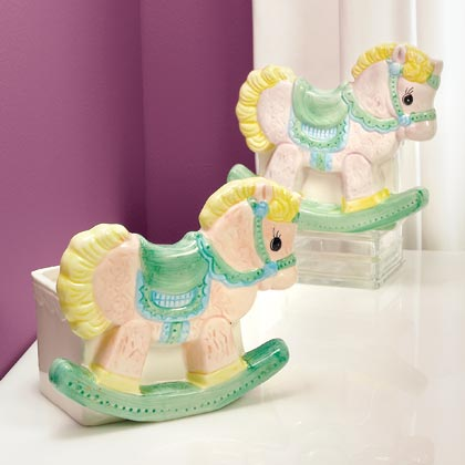 JKM Rocking Horse Planter