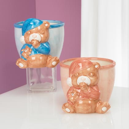 JKM Sleepy Bear Planter