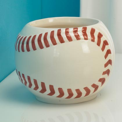 JKM Baseball Planter