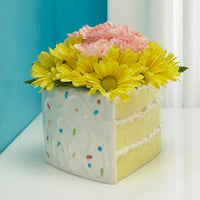 JKM Cake Slice Planter