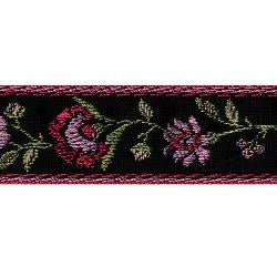 Wrights Flower Woven Band - 7/8""