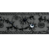 Wrights Black Lace/Sequin/Bead - 1 1/4""