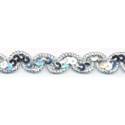 "Wrights Sequin Gimp Scroll - 1/2"" (ID: MR1862614)"