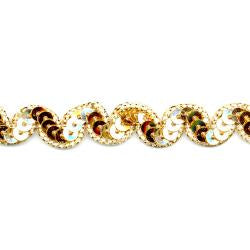 "Wrights Sequin Gimp Scroll - 1/2"" (ID: MR1862616)"