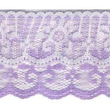 Wrights Two Tiered Ruffle - 2""