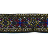 Wrights Jacquard Band - 1 1/8""