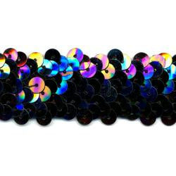 Wrights Stretch Sequin - 1 1/4""