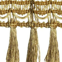 Wrights Metallic Fringe - 2""