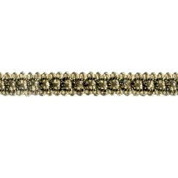 Wrights Metallic Braid - 3/8""