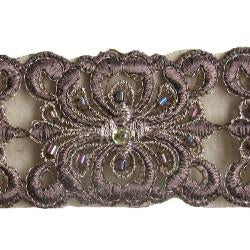 Wrights Sheer Band with Beads - 1 1/2""