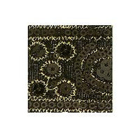 Wrights Sequin Velvet Paisley Band - 1 3/4""