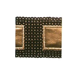 Wrights Pleather Square Band - 1 1/2""