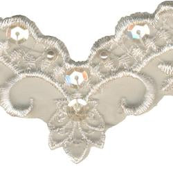 Wrights Trim Bead/Sequin Embroidery Ivy