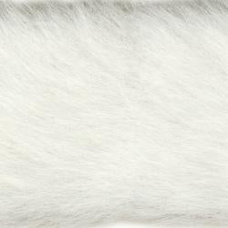 "Wrights White Faux Fur - 2"" & 4"""