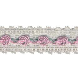 Wrights Lace with Rose - 7/8""