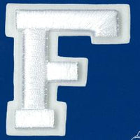Wrights Letter F Raised Embroidery