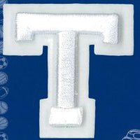 Wrights Letter T Raised Embroidery