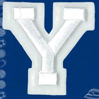 Wrights Letter Y Raised Embroidery