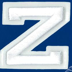 Wrights Letter Z Raised Embroidery