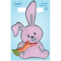 Wrights Pink Bunny with Carrot
