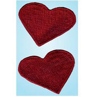 Wrights Large Hearts Red