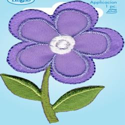 Wrights Satin Flower Lavender
