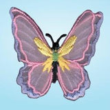 Wrights Sheer Butterfly Double Wing