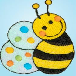 Wrights Bee with Dots