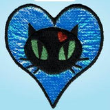 Wrights Iridescent Heart with Cat