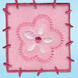 Wrights Fleece Patch Pink/Hot Pink