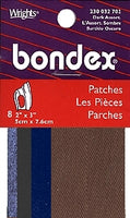 Wrights Bondex Patchettes (Iron On)