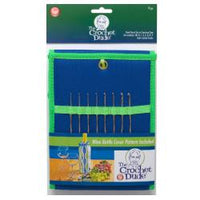 Wrights The Crochet Dude Steel Hook Set - Sizes 00 - 9 - Sizes 00 - 9