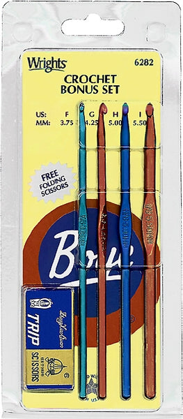 Wrights Boye Crochet Bonus Set - 3.75mm-5.50mm